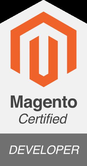 magento certified developer logo