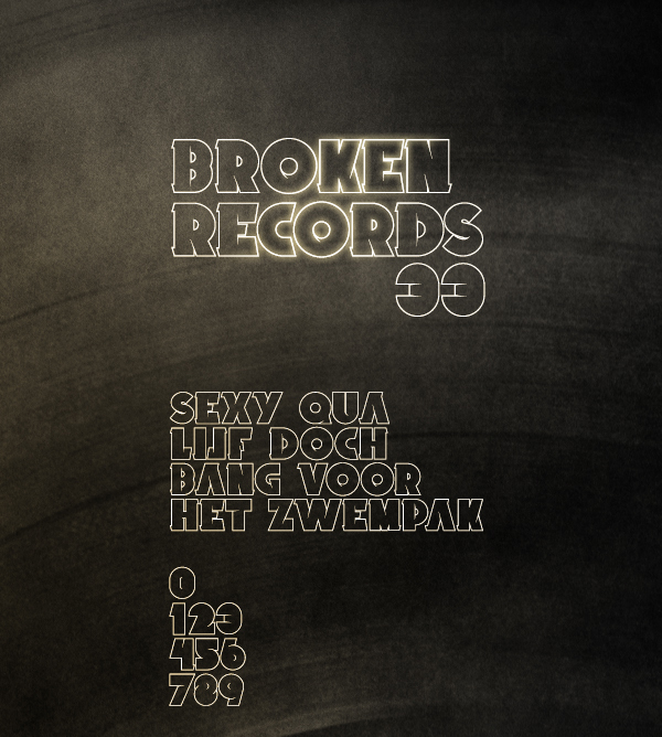 15 Broken Records