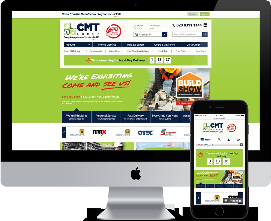 CMT Group iMac Image