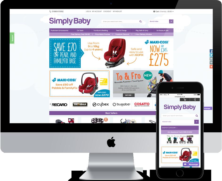 Simply Baby iMac Image