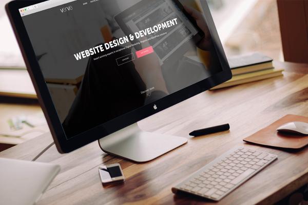 verve launches new site imac mockup