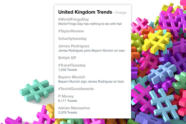 uk hashtag trends