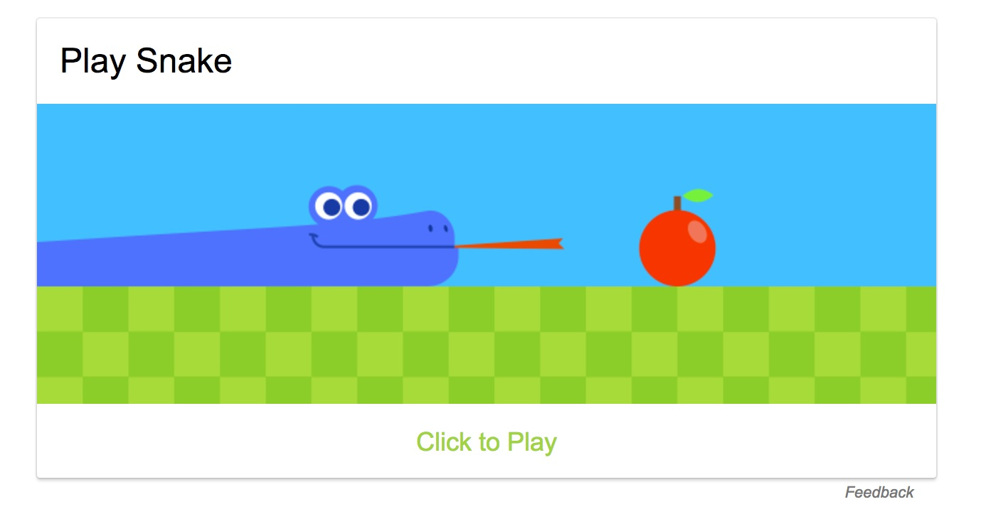 google play snake