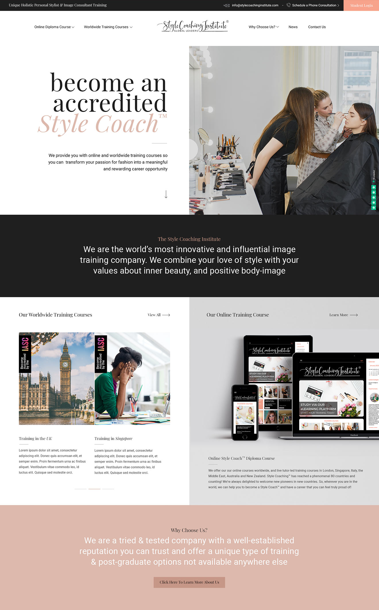 Style Coaching Institute Page